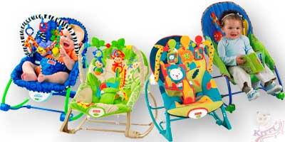 Кресла-качалки напрокат для ребенка возрастом от 9-и месяцев