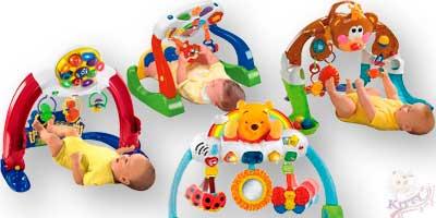 Гимнастические стойки напрокат для ребенка возрастом от 9-и месяцев