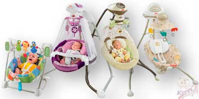 Качели напрокат для ребенка возрастом от 2-х месяцев