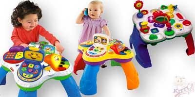 Игровые столики напрокат для ребенка возрастом от 10-и месяцев