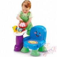 Музыкальный интерактивный стульчик Fisher-Price