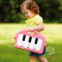 """Развивающий коврик """"Пианино"""" Fisher-Price (розовый)"""