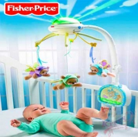 "Мобайл с проектором ""Мечты о бабочках"" Fisher-Price"