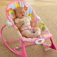 Кресло-качалка «Розовый зайка» Fisher-Price