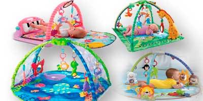 Развивающие коврики напрокат для ребенка возрастом от 3-х месяцев