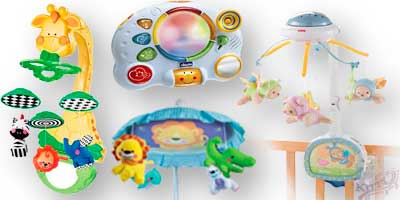 Мобиле и ночники напрокат для ребенка возрастом от 1-ого месяца