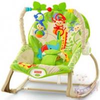 """Кресло-качалка """"Друзья из джунглей"""" Fisher-Price"""